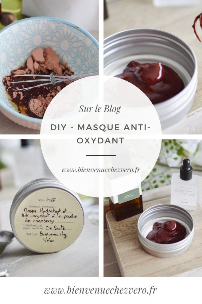 DIY - Masque Anti-Oxydant Cranberry - Bienvenue chez vero