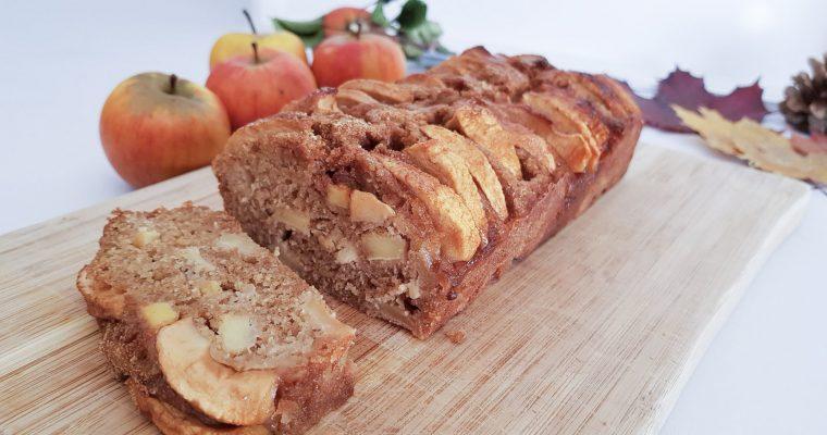 La recette du cake aux pommes à IG bas