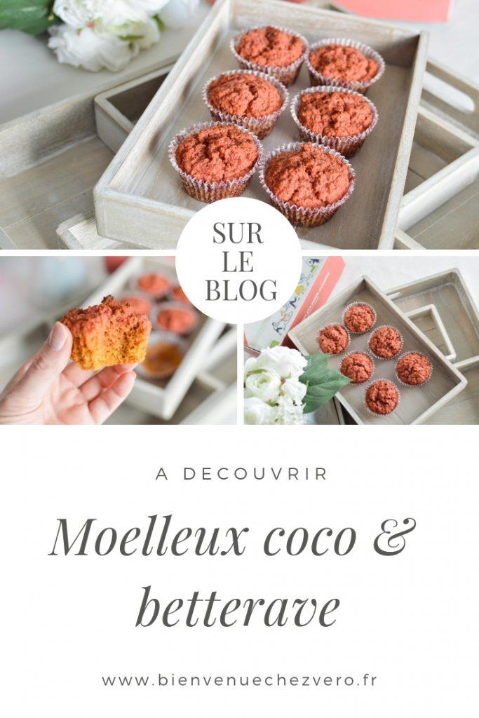 Moelleux coco betterave - Bienvenue chez vero