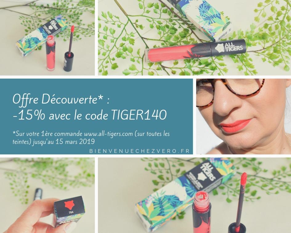 Offre découverte -15% avec le code TIGER140 - All Tigers - Bienvenue chez vero