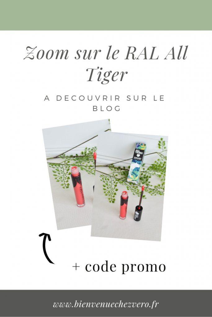 Rouge à lèvres All Tigers Teinte 784 Corail LEAD - Bienvenue chez Vero