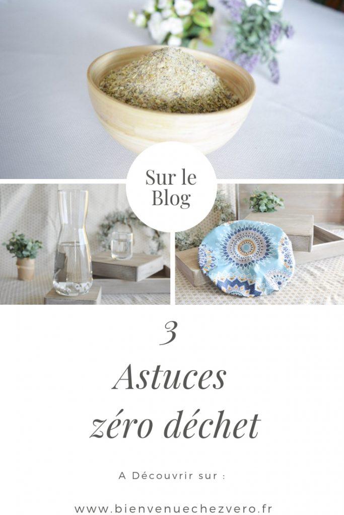 3 astuces zéro déchet à découvrir sur le blog bienvenuechezvero.fr