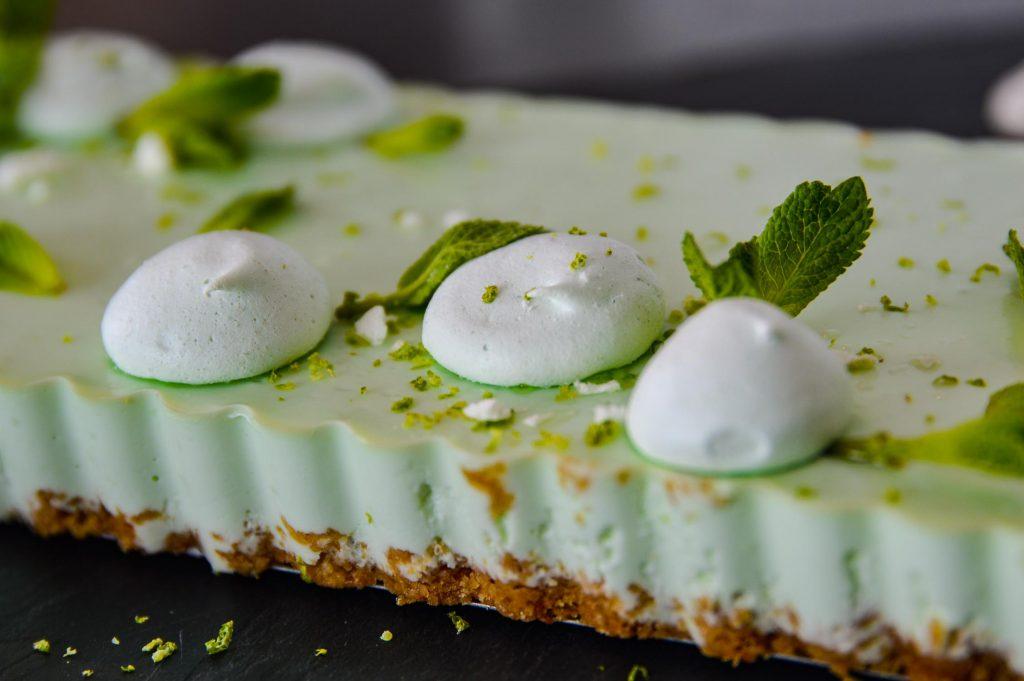 Recette fraicheur Cheesecake Menthe citron vert Bienvenue chez vero