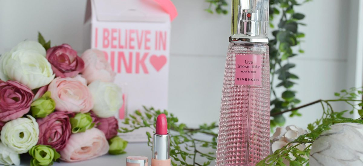 I believe in Pink with Givenchy – Live Irrésistible Rosy Crush
