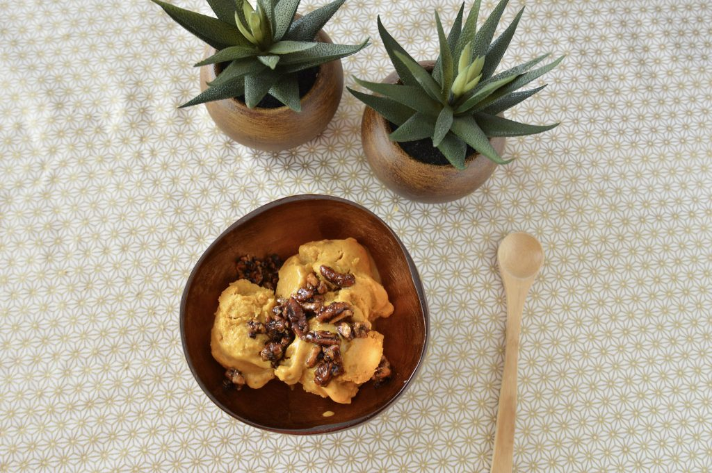 nicecream Banane curcuma tonka Bienvenue chez vero