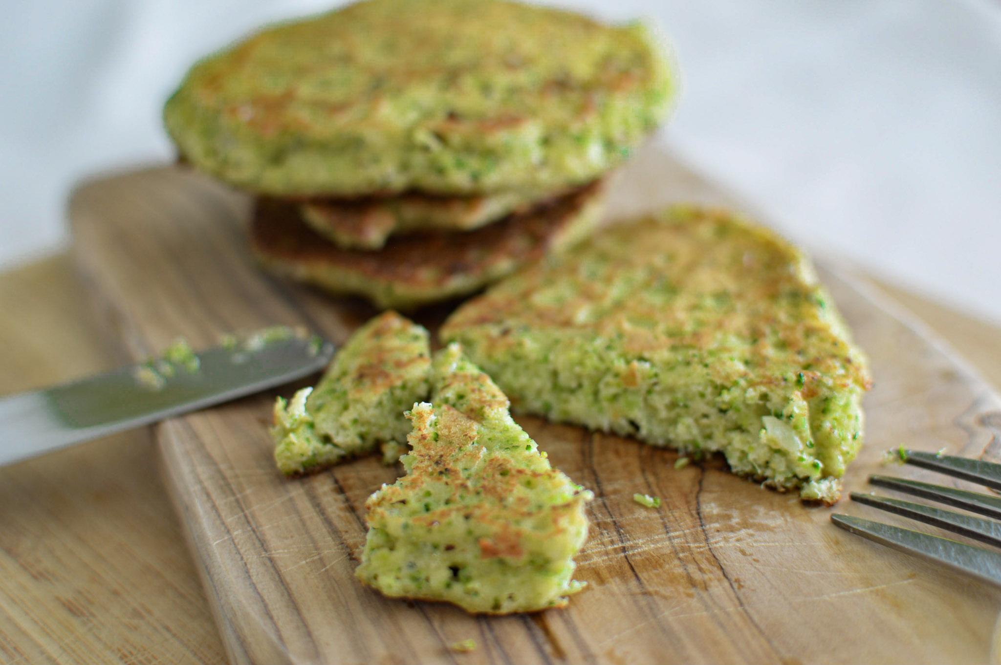 Galettes de brocolis healthy sans farine