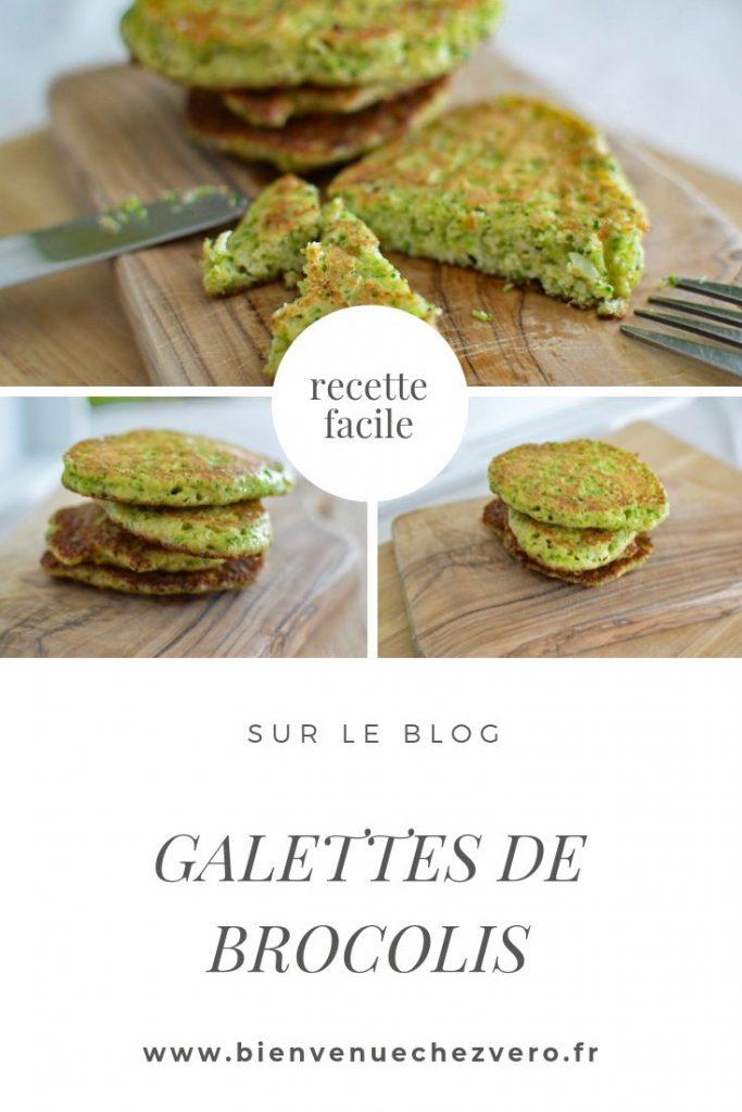 Recette rapide Galettes de brocolis healthy sans farine - Bienvenue chez Vero