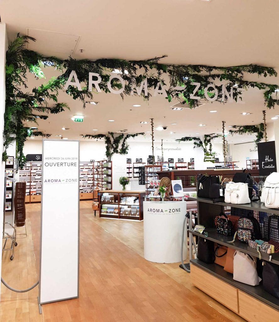 Aroma-Zone - Entrée de la boutique à Metz - Bienvenue chez vero
