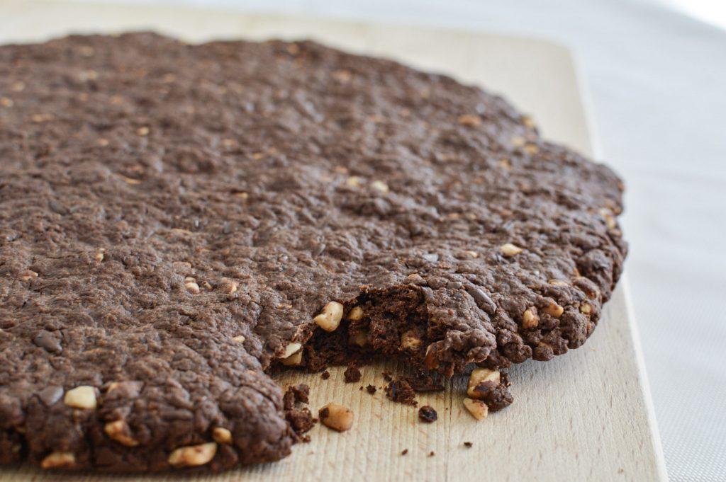 Comment réaliser un cookie géant sain - Bienvenue chez vero