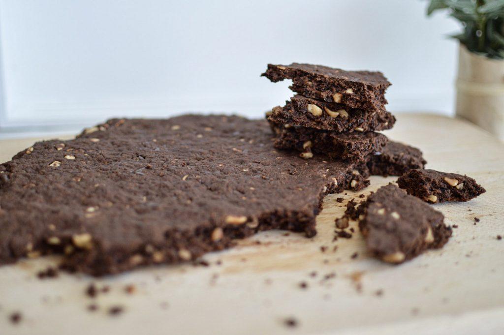 Comment réaliser un cookie géant sain - Bienvenue chez vero (2)