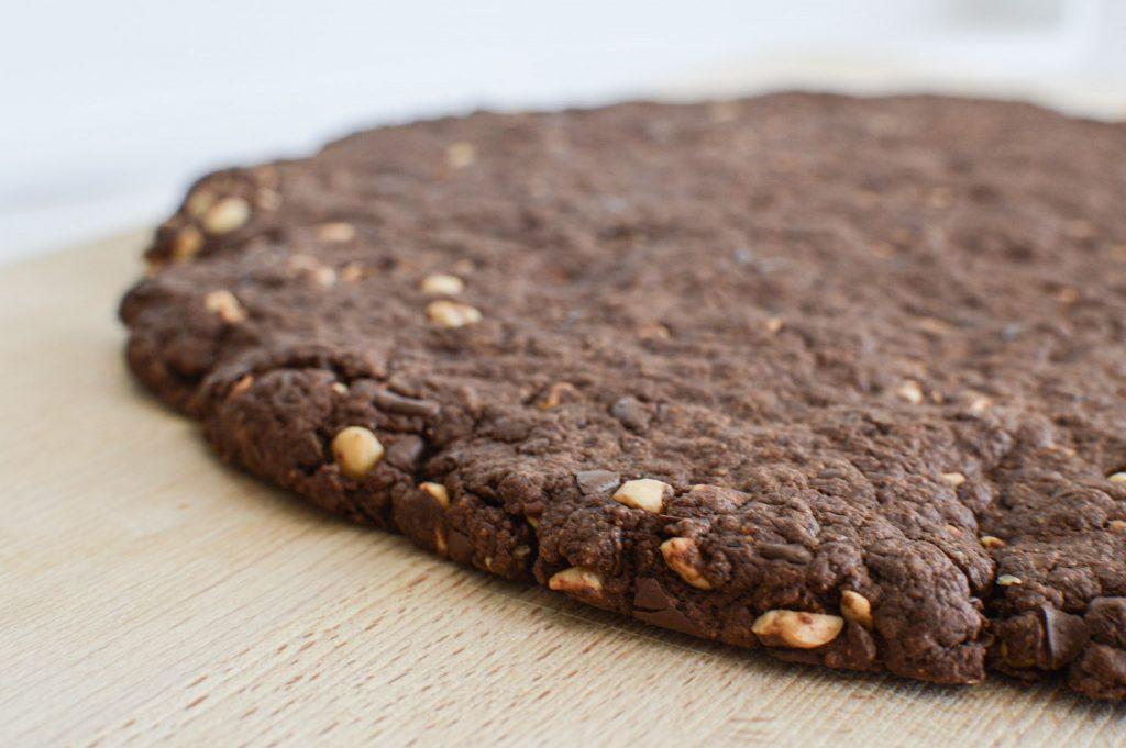 Comment réaliser un cookie géant sain Entier- Bienvenue chez vero