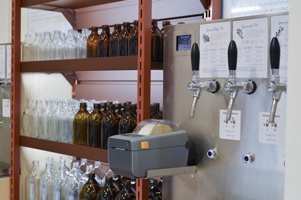 Nouveau à Metz - Une boutique Aroma Zone - Bar à savon liquide en vrac - Bienvenue chez Véro (4)