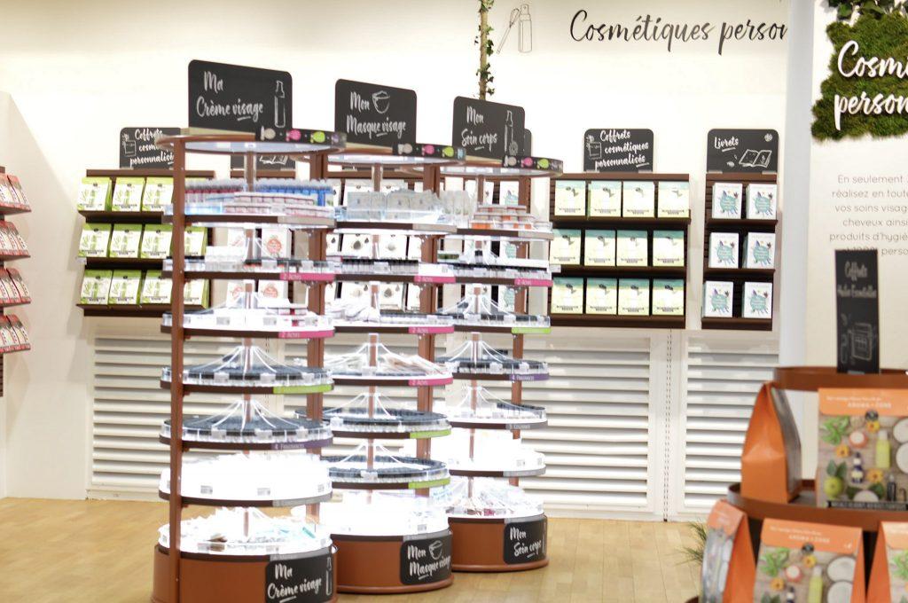 Nouveau à Metz - Une boutique Aroma Zone - Bienvenue chez Véro Rayon cosmétiques personnalisés