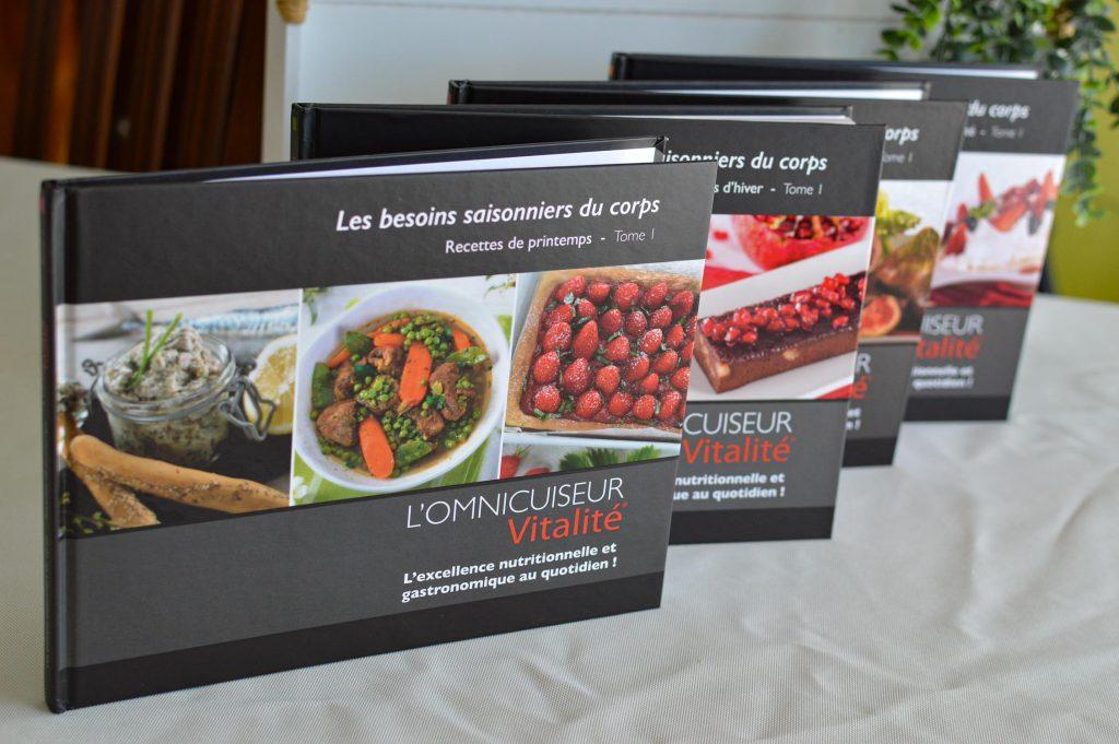 4 livres de recettes Omnicuiseur - Bienvenue chez vero (2)