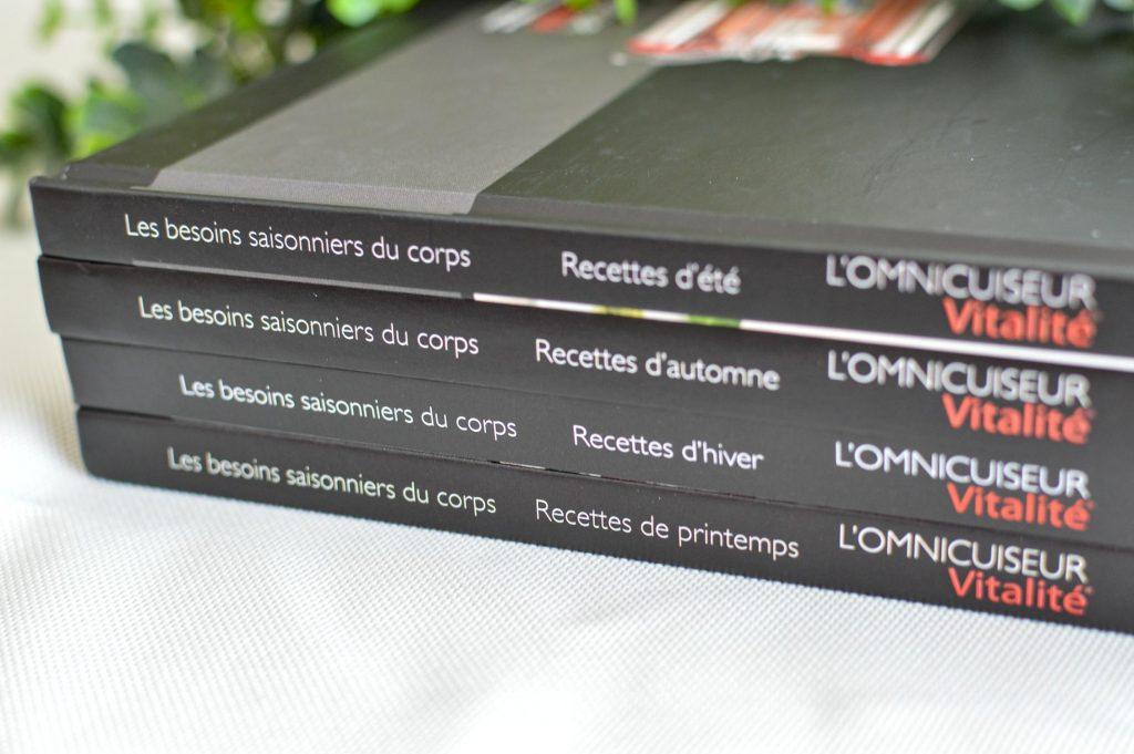 4 livres de recettes - Omnicuiseur - Bienvenue chez vero