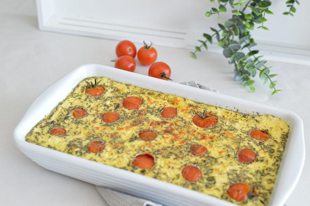 Clafoutis tomates cerises dans le plat - Omnicuiseur - Bienvenue chez vero (14)