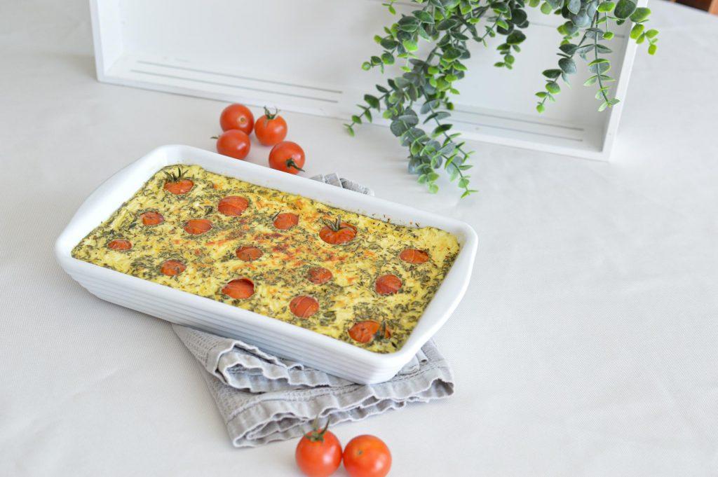 Clafoutis tomates cerises dans le plat - Omnicuiseur - Bienvenue chez vero (15)