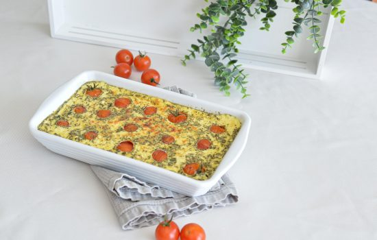 Clafoutis aux tomates cerises à l'Omnicuiseur