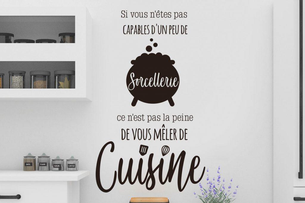 Si vous n'êtes pas capable d'un peu de sorcellerie ce n'est pas la peine de vous mêler de cuisine - Bienvenue chez vero