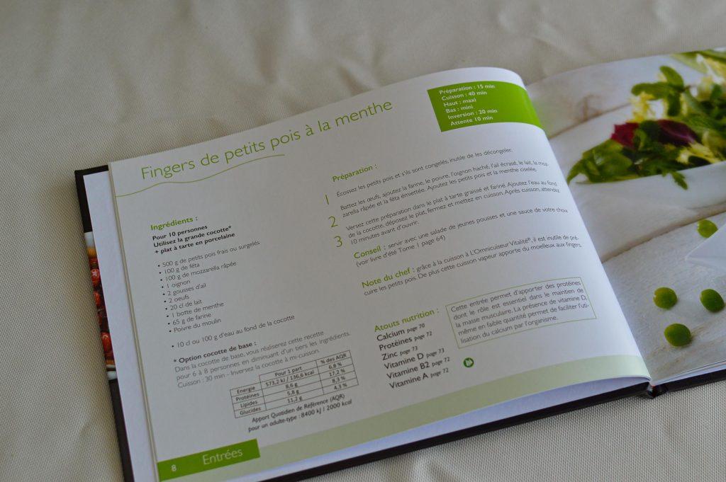 Livre de recettes du printemps ouvert Omnicuiseur - Bienvenue chez vero (8)