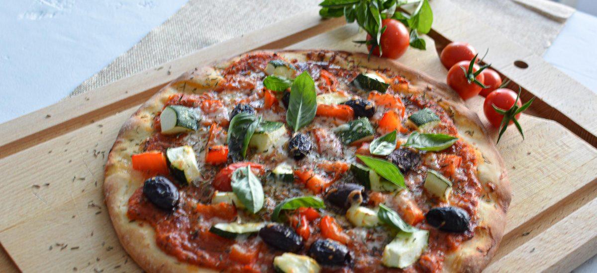 Pizza aux légumes et jambon de Parme - Batchcooking - Bienvenue chez vero