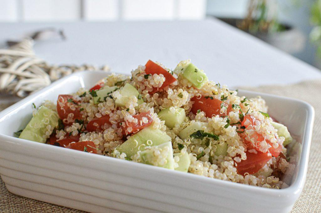 Taboulé au quinoa - Batchcooking lundi