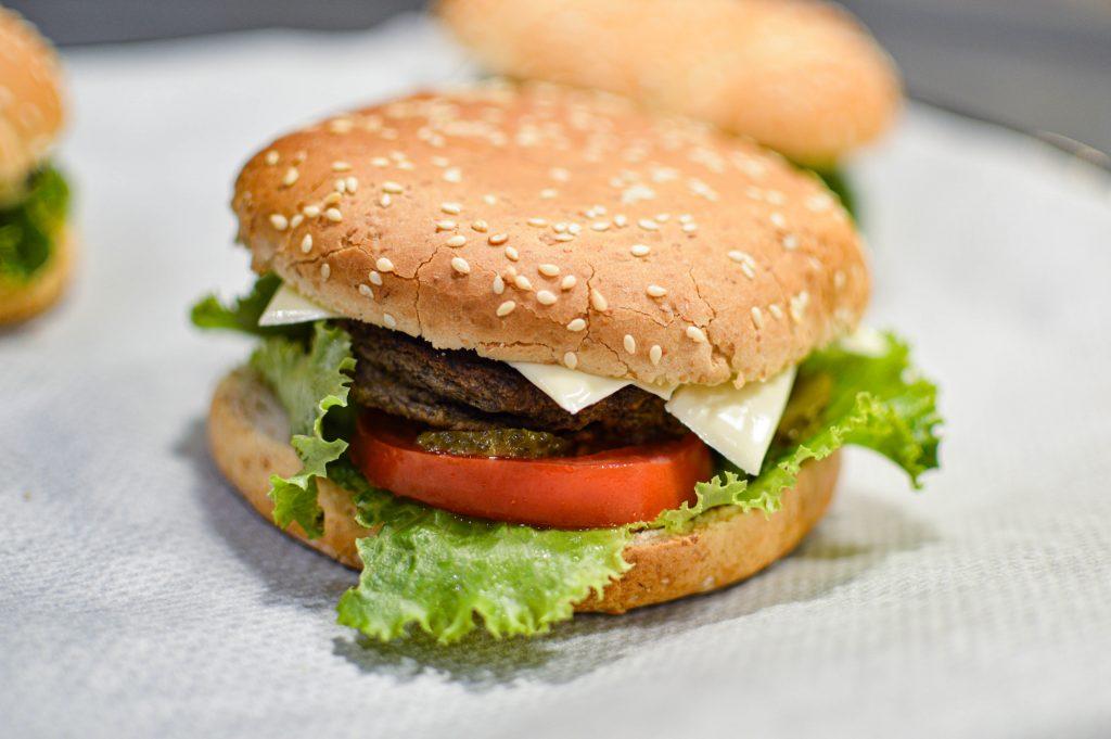Veggie Burger - Bienvenue chez Vero