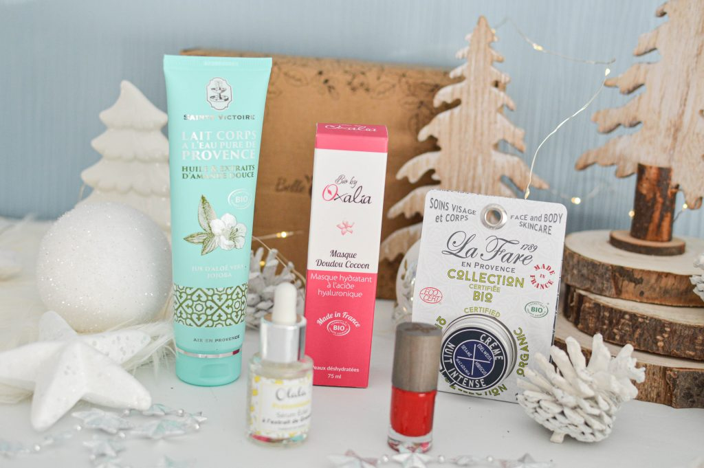 Tous les produits de la Box beauté Féerie de Noel 2019 - Belle au naturel - Bienvenuechezvero