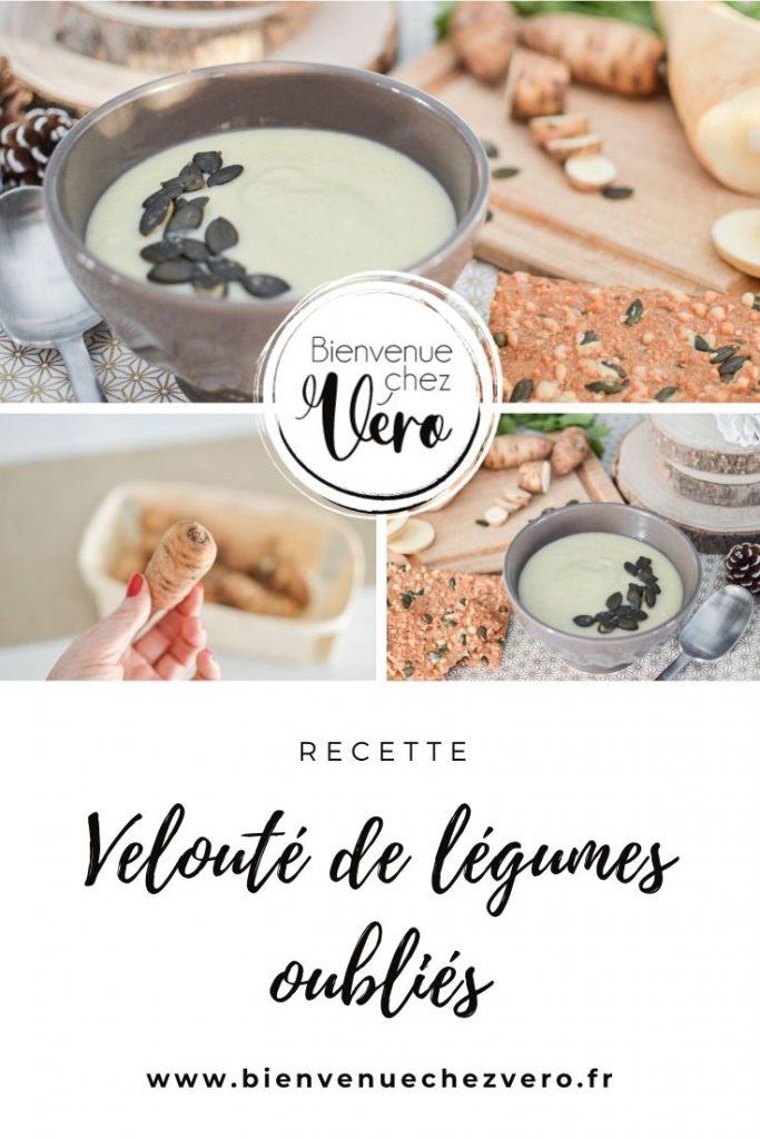 Velouté de légumes oublés - Recette - Bienvenuechezvero.fr