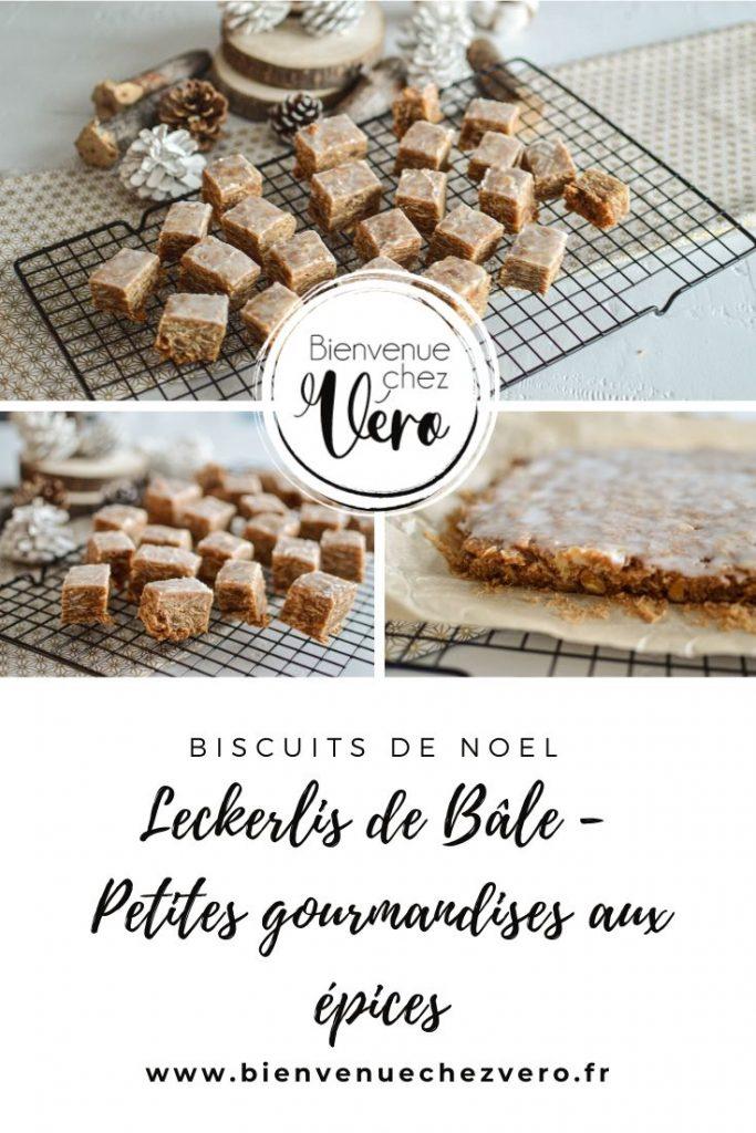 Recette de Noël : Leckerlis de Bâle - Gourmandises aux épices - Bienvenuechezvero.fr