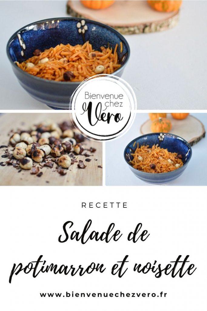 Salade de potimarron et noisette - Bienvenuechezvero.fr PIN IT