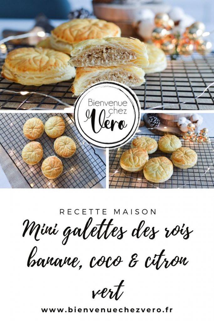 Mini galettes des rois des iles (bananes coco & citron vert) Omnicuiseur - Bienvenuechezvero.fr PIN IT