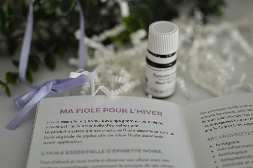 Ma fiole pour l'hiver de Fioly Box - Bienvenuechezvero