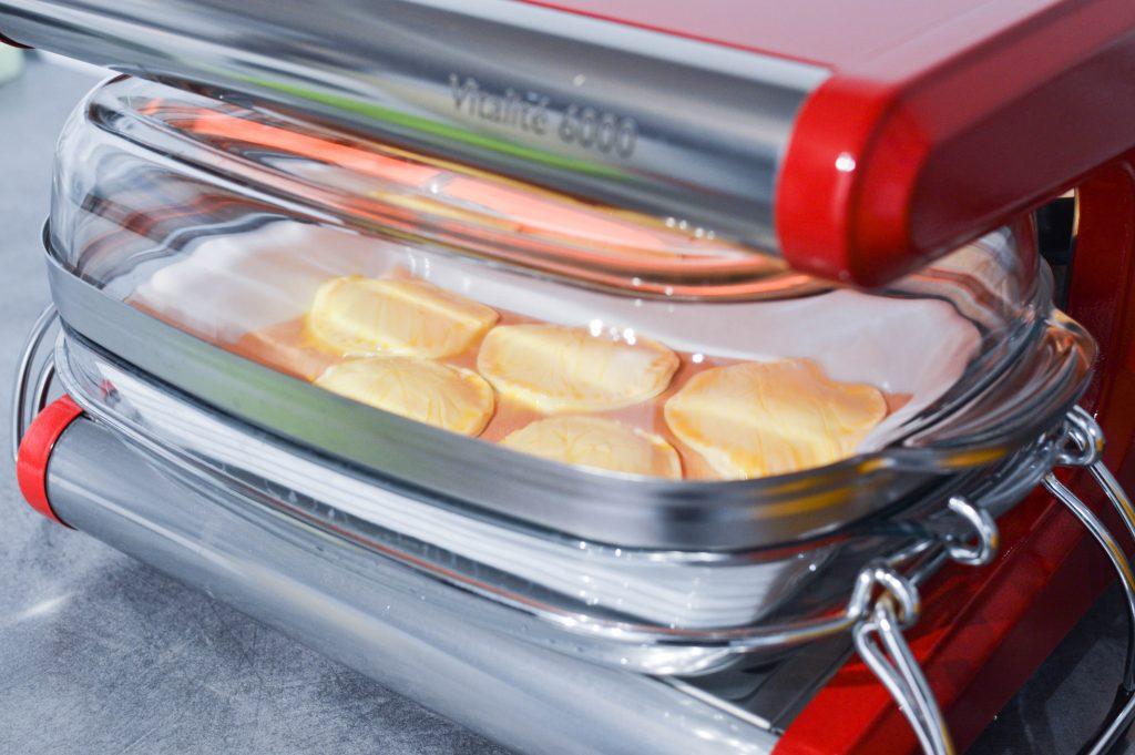 cuisson des mini galettes de rois des iles à l'omnicuiseur