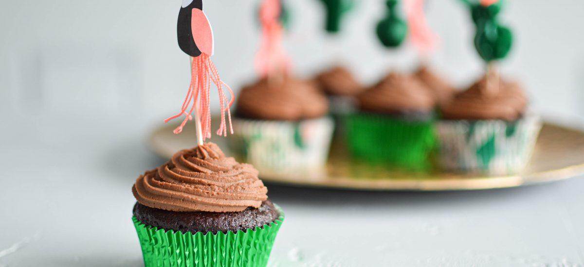 Cupcakes tout chocolat - Bienvenue chez vero