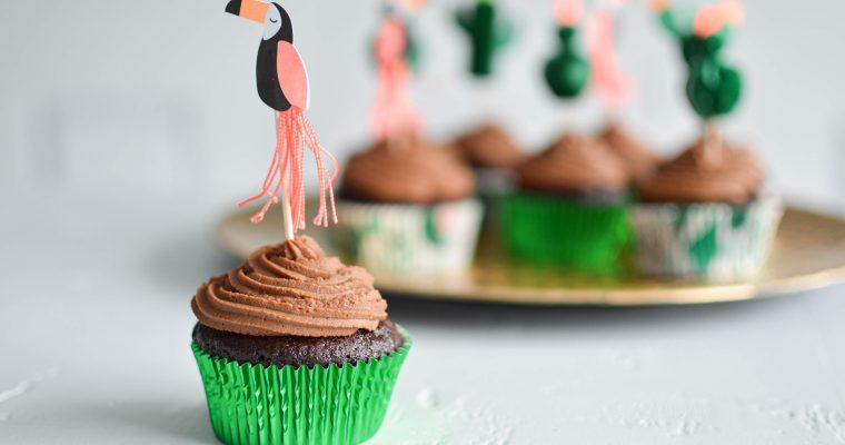 Cupcakes tout chocolat pour un goûter gourmand