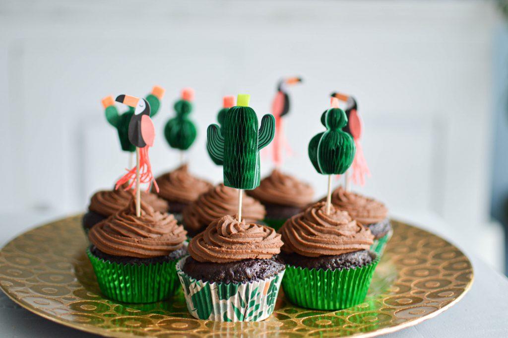 Cupcakes chocolat ganache au chocolat - Bienvenue chez vero