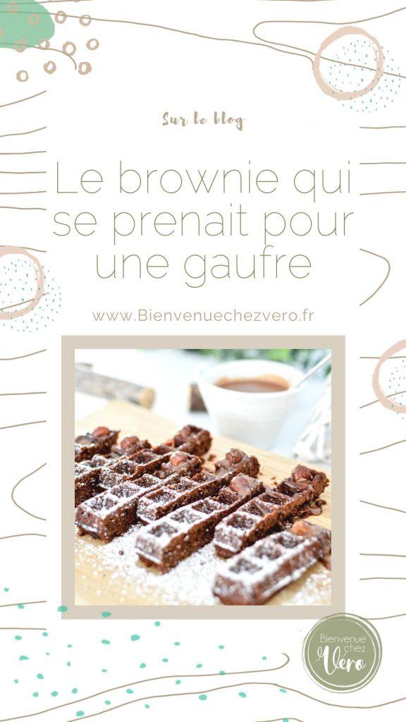 Le brownie qui se prenait pour une gaufre