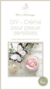 DIY - Creme pour peaux sensibles