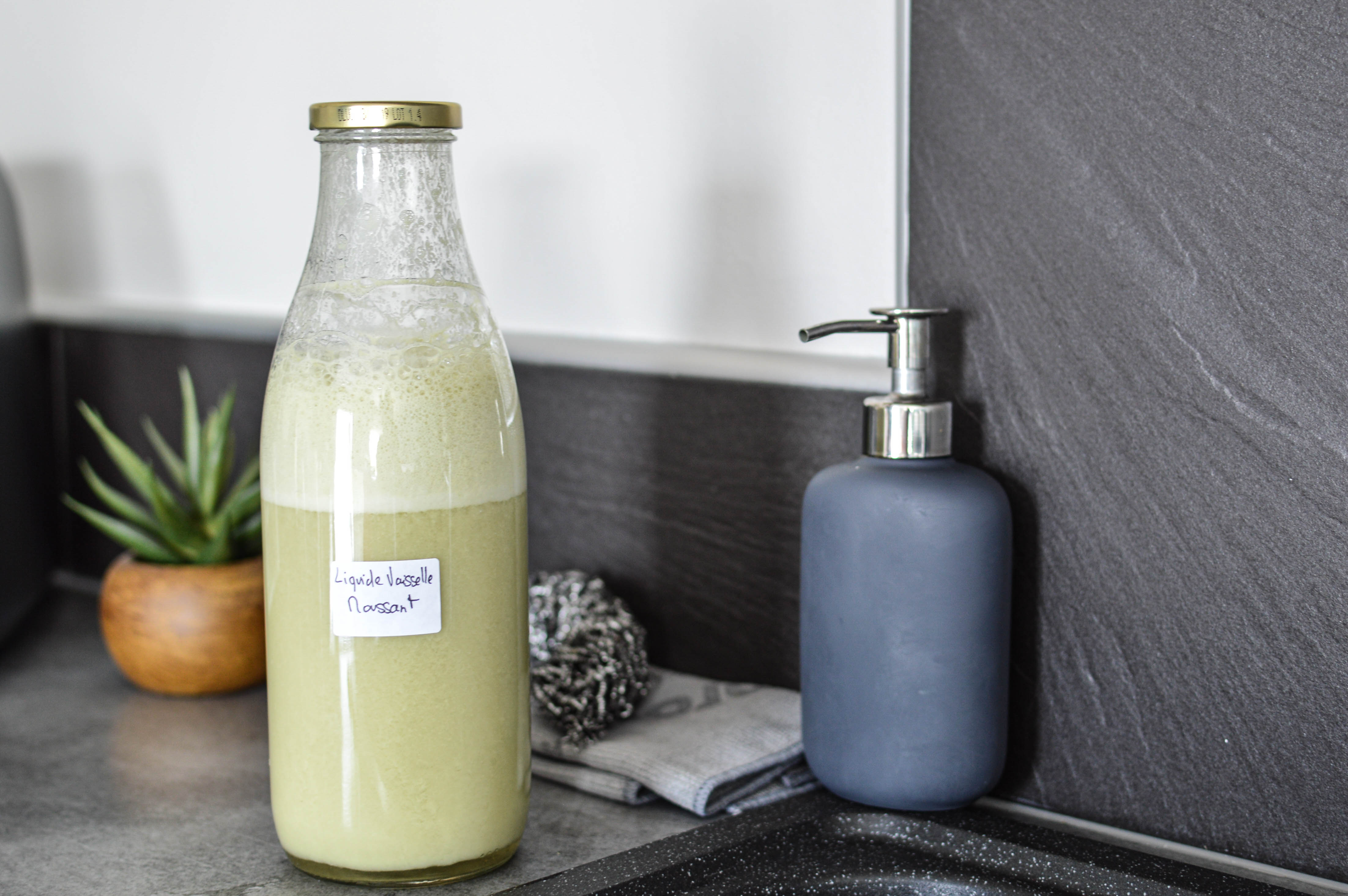 Liquide Vaisselle Moussant Fait Maison Recette Naturelle