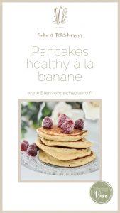 Fiches à télécharger - Pancakes healthy à la banane