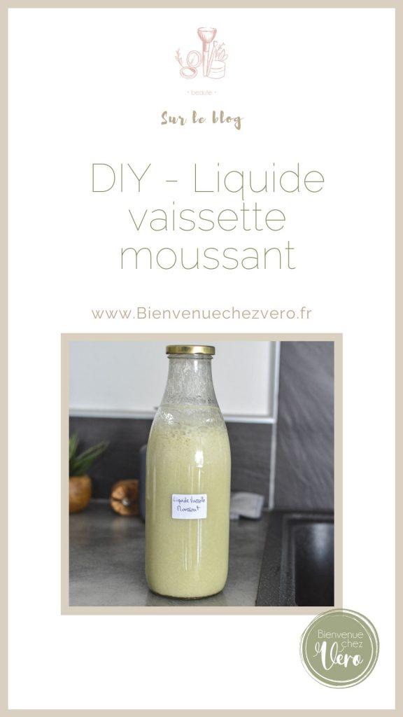 Pinterest - Réalises ton propre liquide vaisselle qui mousse