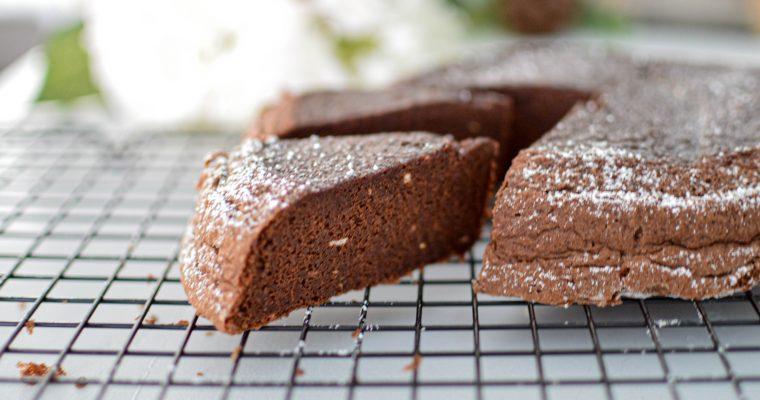 Gâteau chocolat courgette à la vapeur