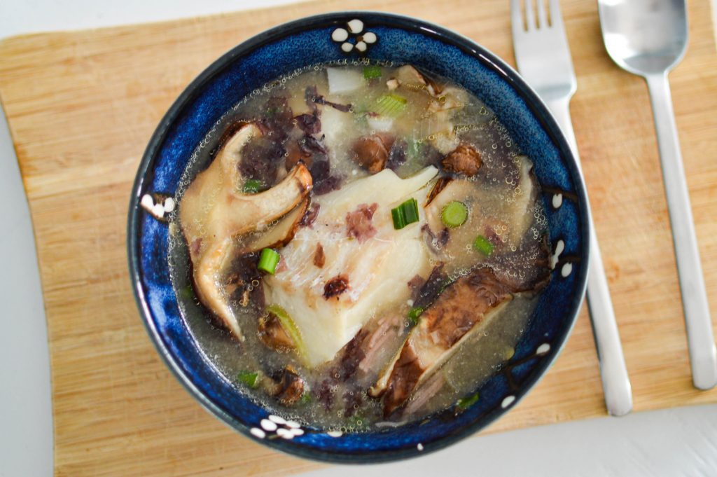 Poisson et son bouillon miso (4)