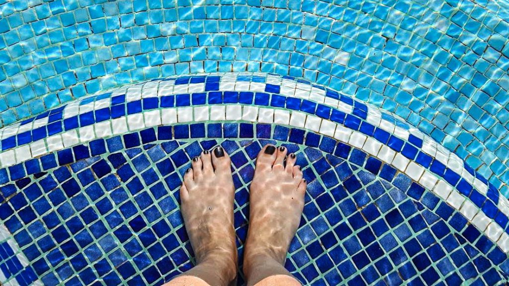 Les pieds dans l'eau pour un week-end spa