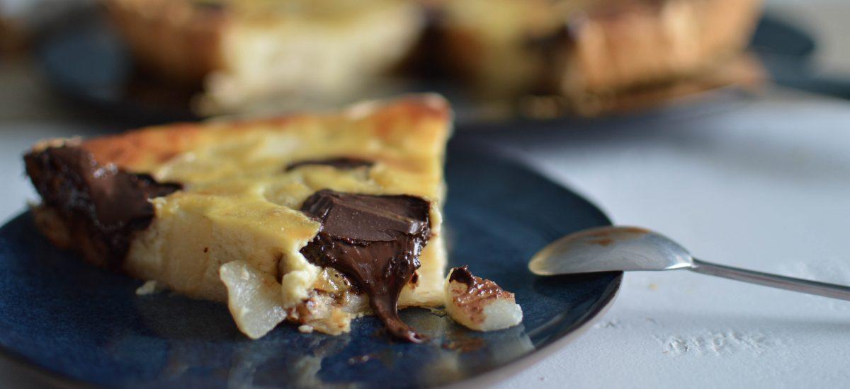 Tarte poires chocolat déclinée en 3 desserts pour toute la famille