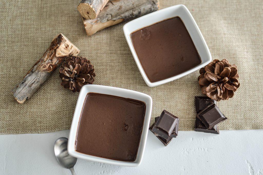 Petits pots de crème au chocolat pour enfant