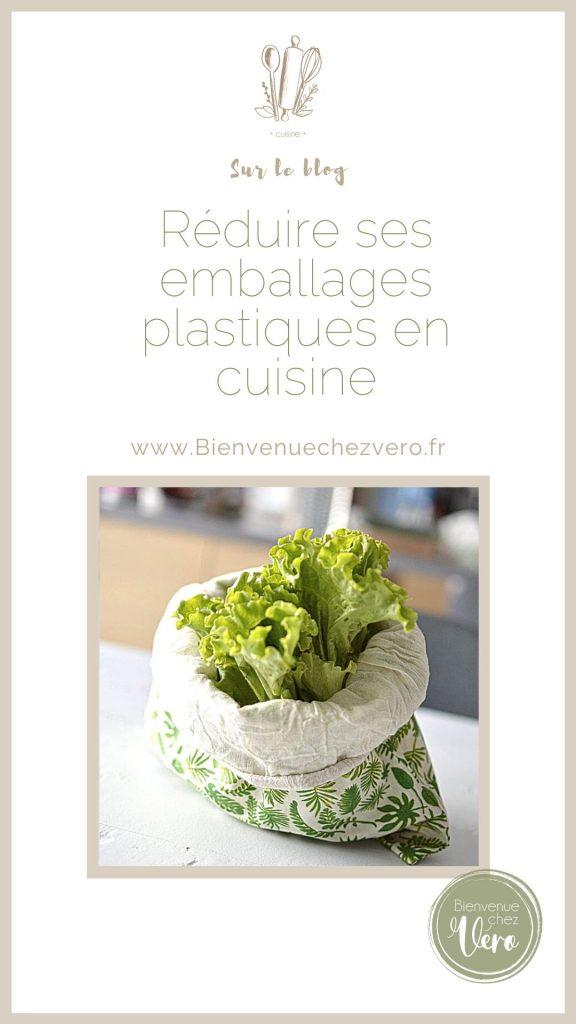 Réduire ses emballages plastiques en cuisine