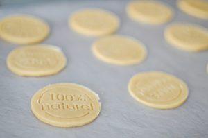 Biscuit prêts à être enfournés
