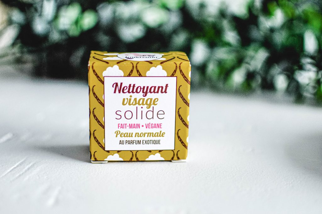 Nettoyant visage solide - emballage 100% recyclable